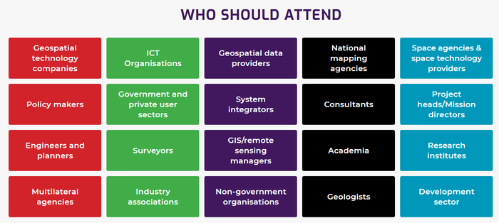 African Geospatial Data and Internet Conference 2019 Who should attend