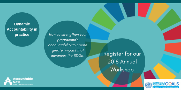 Accountable Now Annual Workshop