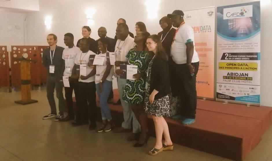 CAFDO winning team IATI Hackathon