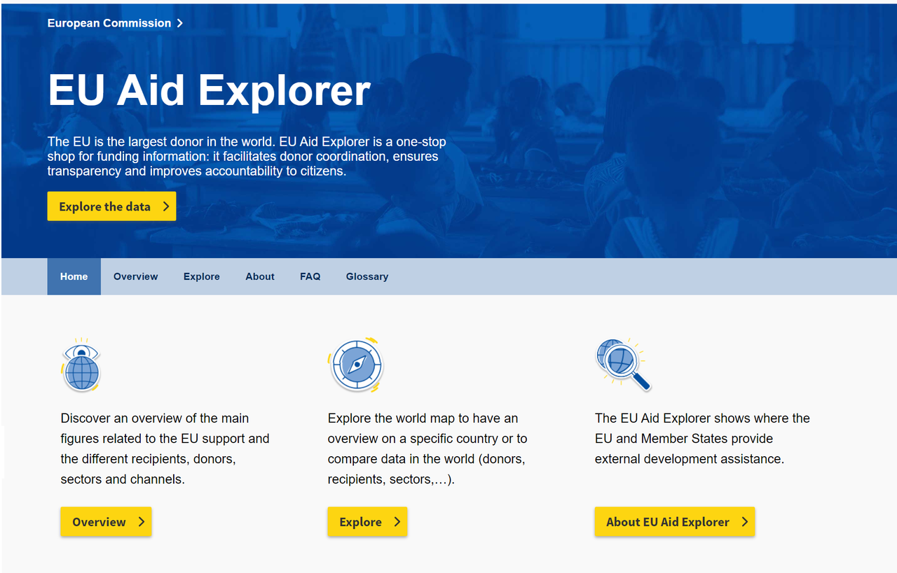 IATI data helps power new EU Aid Explorer - iatistandard org