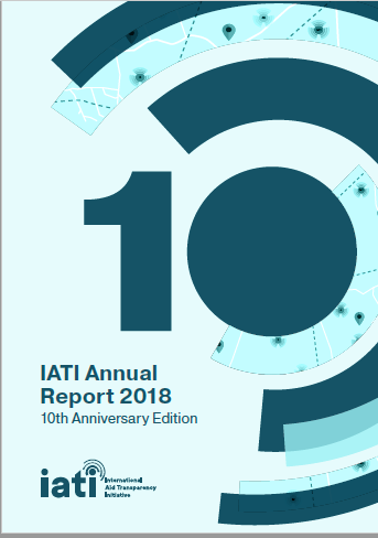IATI Annual Report 2018 front cover