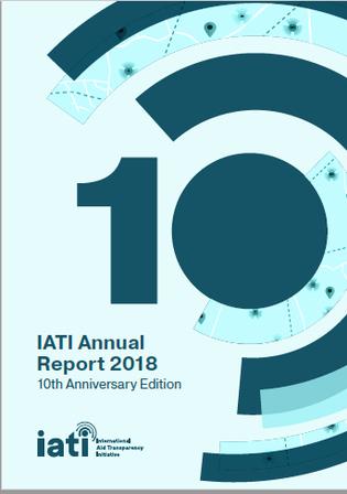 IATI Annual Report 2018 front cover