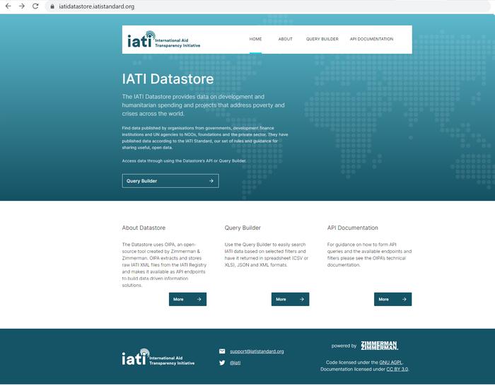 IATI Datastore