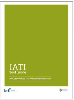IATI Tool Guide - using the data