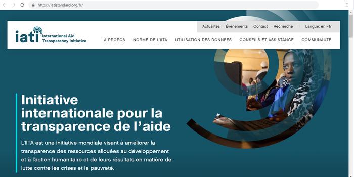 IATI website FR