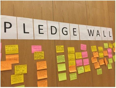 MA Pledge wall photo