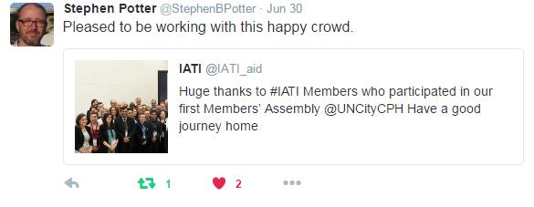 Stephen Potter MA 2016 tweet