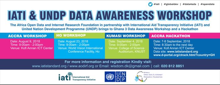Africa Open Data events banner
